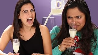 Adults Try Human Breast Milk