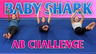We Tried the Baby Shark Ab Challenge