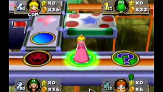 Mario Party 4 - Story Mode - Toad's Midway Madness (Part 2)