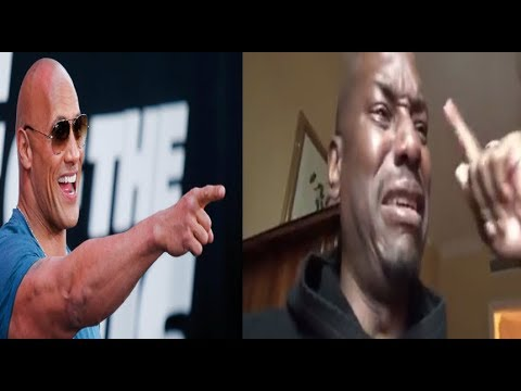 Xxx Mp4 Tyrese GOES OFF On The Rock AGAIN Then Breaks Down CRYING After Threatening To Quit Fast Furious 3gp Sex