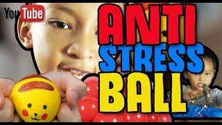 DIY ANTI STRESS BALL Cara Buat Sendiri BOLA ANTI STRESS