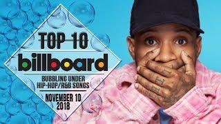 Top 10 • US Bubbling Under Hip-Hop/R&B Songs • November 10, 2018 | Billboard-Charts