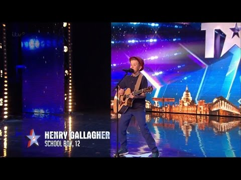Xxx Mp4 Britain 39 S Got Talent 2015 S09E02 Henry Gallagher 12 Year Old Sings His Own Amazing Original Song 3gp Sex