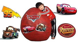 Disney Cars Giant Toys Surprise Egg Cars 3 Trailer Inspired
