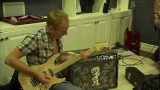 Phil Collen Shreds the Blue Room