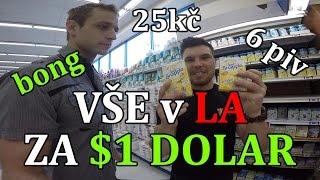 Co v LA koupíte za 1 $ / 25kč! Tohle neznáš!