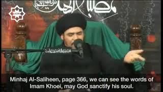 """المرجع الكبير أبو القاسم الخوئي""""ق.س"""" يوجب قتال الكفار خارج البلاد بشرطين..؟"""
