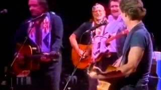 The Highwaymen live 1990 Nassau Coliseum - part 4.flv