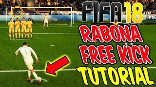 FIFA 18 RABONA FREE KICK TUTORIAL! ⛔️🔥 Direkter RABONA FREISTOSS - FifaGaming Ultimate Team Deutsch