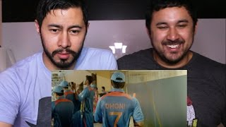 M S  DHONI Trailer Reaction (RE UPLOAD - ACCIDENTALLY DELETED)