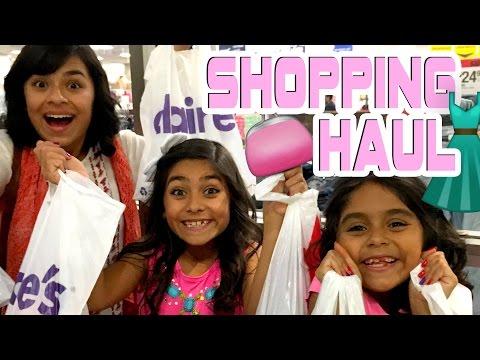 Shopping Haul VLOG IT GEM Sisters