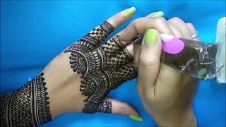 *New* Backhand Henna Mehndi Design for Any Occasion