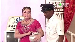 Amanat Chan and Tahir Anjum New Pakistani Stage Drama Full Comedy Funny Clip