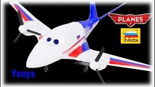 PLANES Tanya Model Kit Zvezda from Disney Cartoon Toys Review