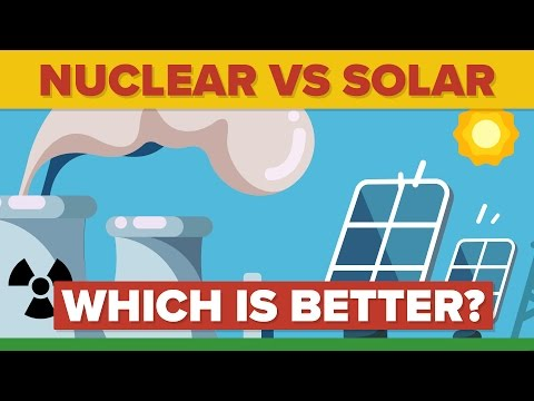 NUCLEAR ENERGY vs SOLAR ENERGY: Which