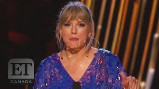 Taylor Swift Teases New Music At iHeartRadio Music Awards