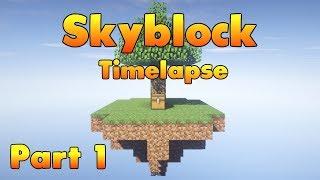 Minecraft Timelapse - Skyblock [Part 1] (Download)