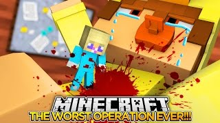 BABY LEAH KILLS BABY DUCK (OPERATION) w/ LITTLE DONNY???- Baby Leah Minecraft Roleplay!.