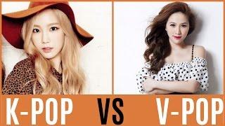 K-POP VS V-POP
