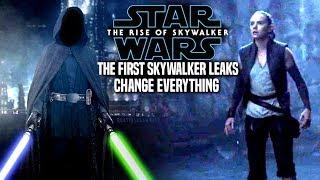 The First Skywalker Leaks Change Everything! The Rise Of Skywalker (Star Wars Episode 9)