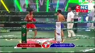 Thun Englai vs Yokthorng (Thai) CNC Khmer boxing 24/11/2018