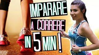 IMPARARE A CORRERE in 5 MINUTI! 10 Km SENZA STANCARSI! 5 TRUCCHETTI CHE DEVI SAPERE! | Adriana Spink