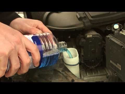 How to Top up a Windscreen Washer Bottle - Video Guide