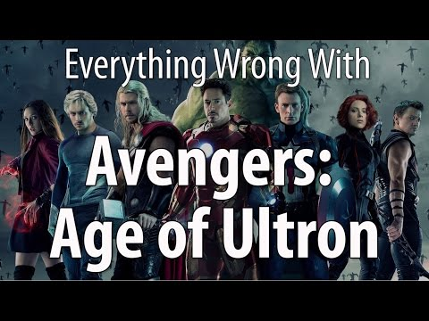 Everything Wrong With Avengers Age of Ultron