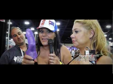 ANGELINA CASTRO INTERVIEWS BEN WA @EXXXOTICA MIAMI 2012