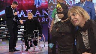Fredy trajo a Burlando,  Marila, La Masa y la silla de ruedas