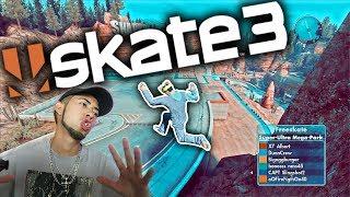 Skate 3 - MEGA-PARK BANANA MAN!!