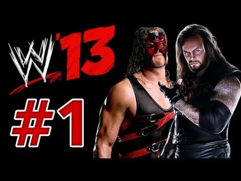 تختيم WWE 13 كين واندرتيكر الجزء 1 WWE 13 Undertaker & Kane Part 1