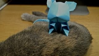 Jacky Chan Origami Cute Mouse