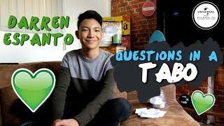 Questions in a Tabo: Darren Espanto
