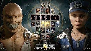 Mortal Kombat 11 Full Roster Revealed