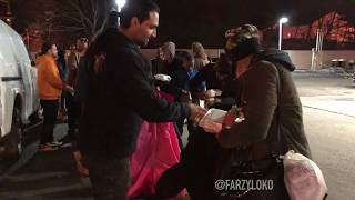 Helping out the Homeless {Farzy Loko}