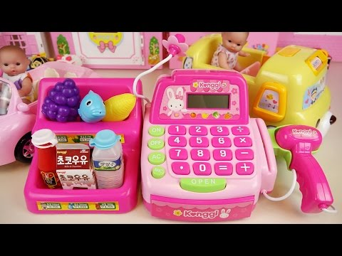 Xxx Mp4 Mart Cash Register And Baby Doll Car Toys Play 3gp Sex