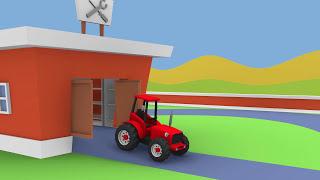 Fairy Tractors Compilation for Children   Bajki traktory kompilacja dla dzieci