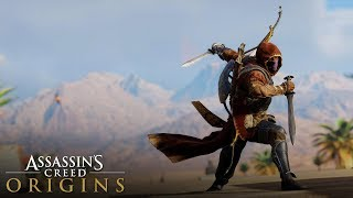"""Assassin's Creed Origins  """"Prince of Persia"""" Outfit Stealth & Combat Gameplay ( Rare Persian Prince)"""