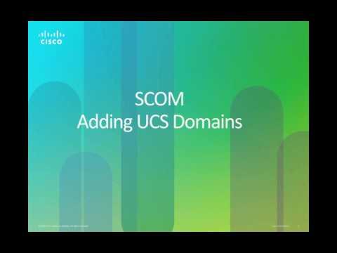 UCS Management Pack for Microsoft SCOM