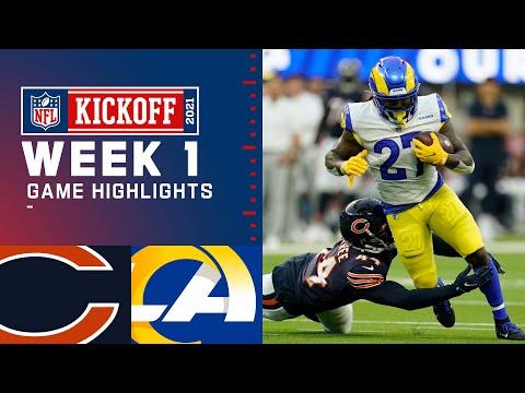 Bears vs. Rams Week 1 Highlights NFL 2021