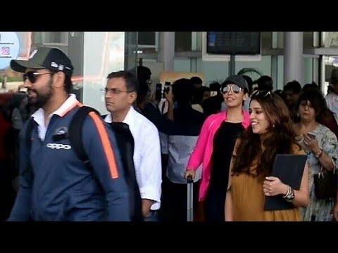 Xxx Mp4 Rohit Sharma Ritika Sajdeh Ravi Shastri Amp Indian Cricket Team Players Arrived In Lucknow 3gp Sex