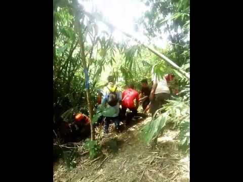 BATARA Blanakan Trail Adventure Subang Utara Acara Modhar(Moro  Dahar) Patok beusi 2016