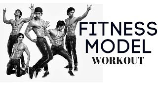 Indian Fitness Model workout video shoot by Praveen Bhat Model Rahul
