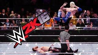 My Career  vs Sami Zayn WWE 2K16