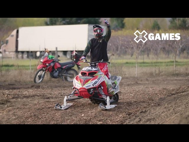 Road to X Games: Heath Frisby