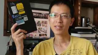 Paul Wang Accordion Sketchbook 23 (Sketchbook Feature)