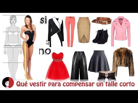 Qué te conviene vestir si tienes el talle corto