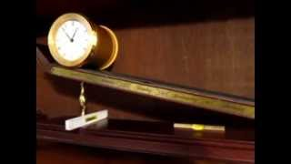 1984 Franklin Mint Imhof Inclined Plane clock
