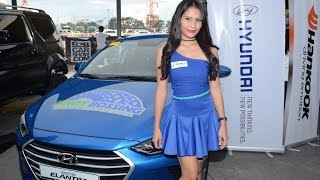 Sexy Models of the 2016 Bumper 2 Bumper Car Show Philippines